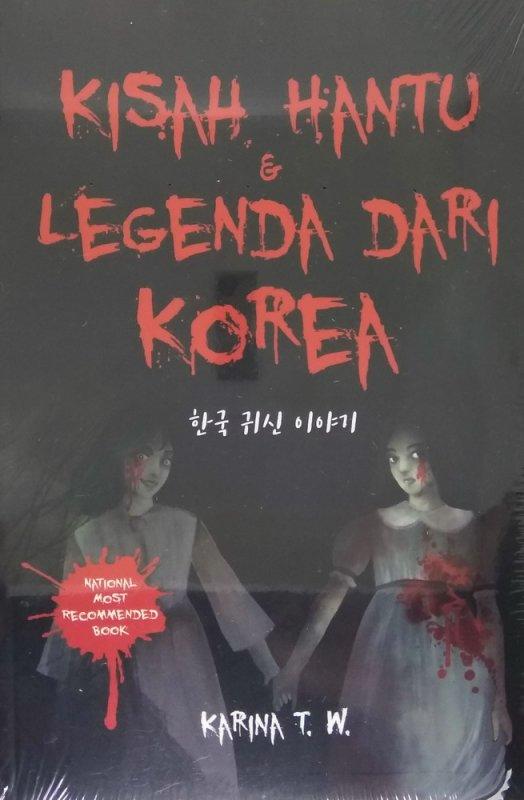 Cover Buku Kisah Hantu & Legenda Dari Korea