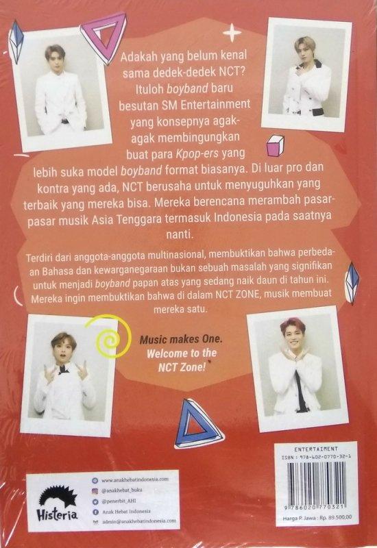 Cover Belakang Buku NCT-ZONE