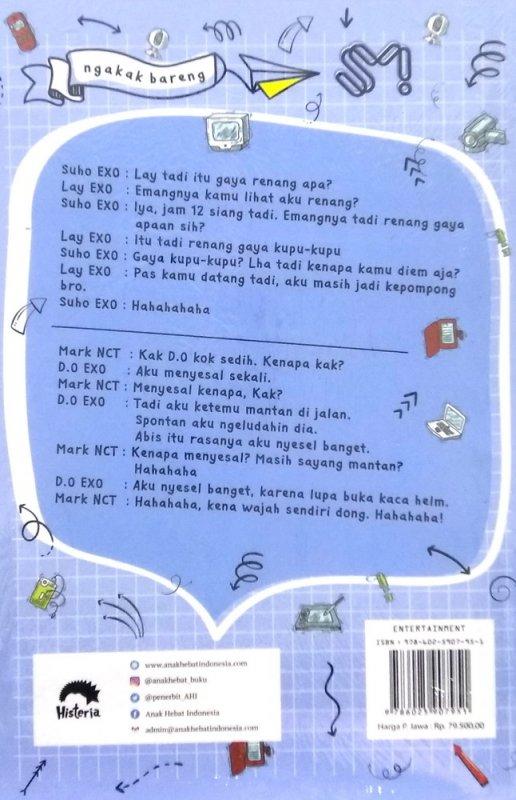 Cover Belakang Buku Ngakak Bareng SM