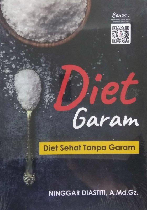 Cover Buku Diet Garam: Diet Sehat Tanpa Garam