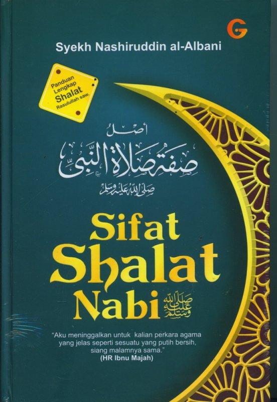 Cover Buku Sifat Shalat Nabi (Hard Cover)