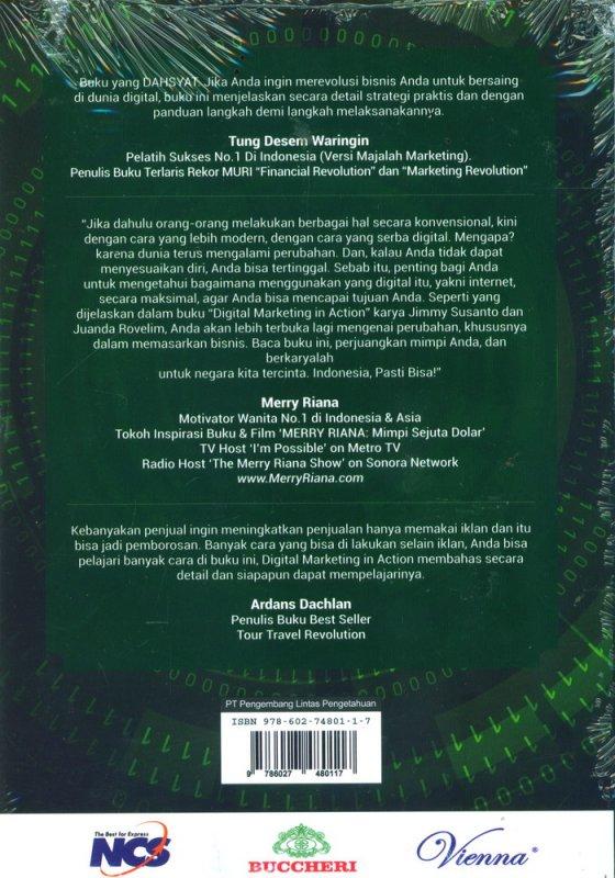 Cover Belakang Buku Digital Marketing In Action 2nd Edition