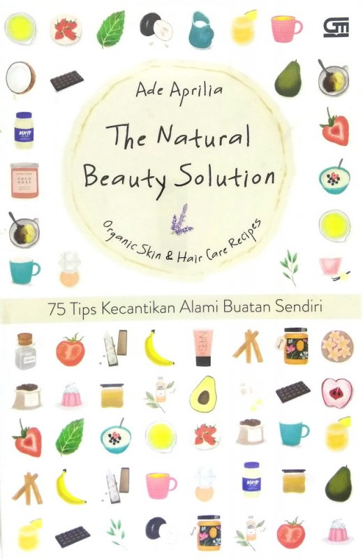 Cover Depan Buku The Natural Beauty Solution