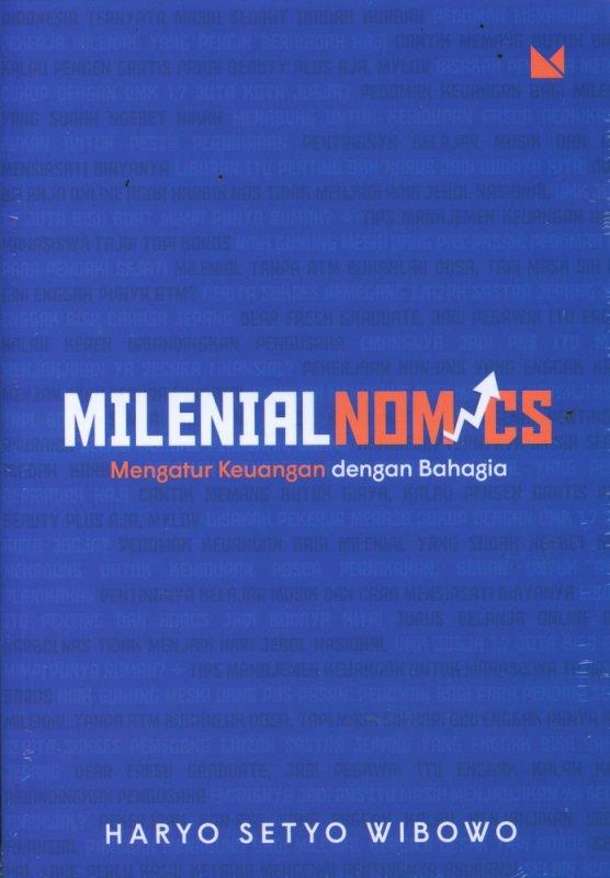 Cover Buku Milenial Nomics: Mengatur Keuangan dengan Bahagia