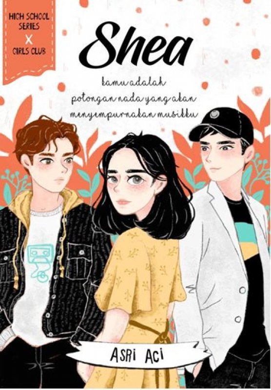 Cover Buku Shea [Edisi TTD POSCARD+Special Gimmick]