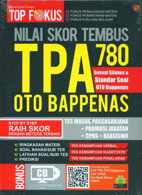 Cover Buku TOP FOKUS TPA OTO BAPPENAS