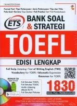 Bank Soal & Strategi TOEFL EDISI LENGKAP 1830 SOAL + CD