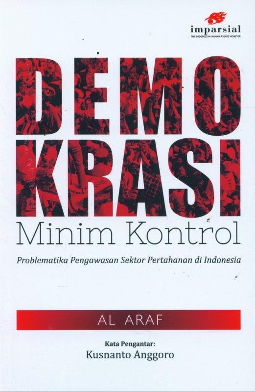 Cover Buku Demokrasi Minim Kontrol