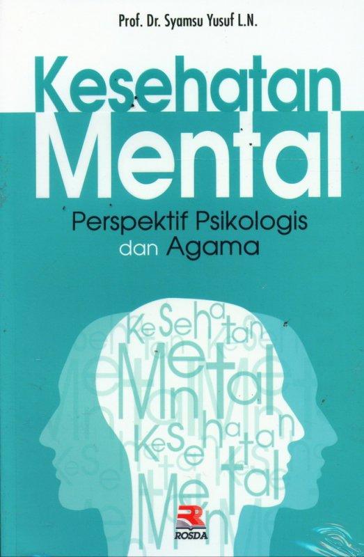 Cover Buku Kesehatan Mental Perspektif Psikologis dan Agama