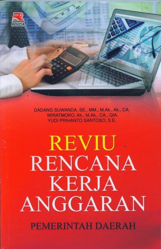 Cover Buku Reviu Rencana Kerja Anggaran Pemerintah Daerah