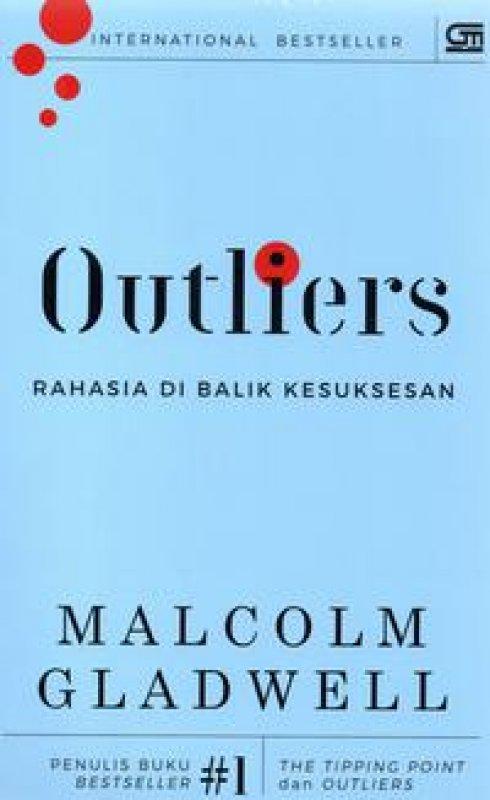 Cover Buku OUTLIERS: Rahasia di Balik Kesuksesan - Cover Baru