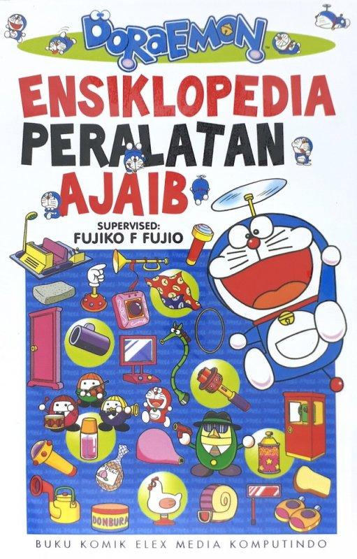 Cover Buku Doraemon Ensiklopedia Peralatan Ajaib