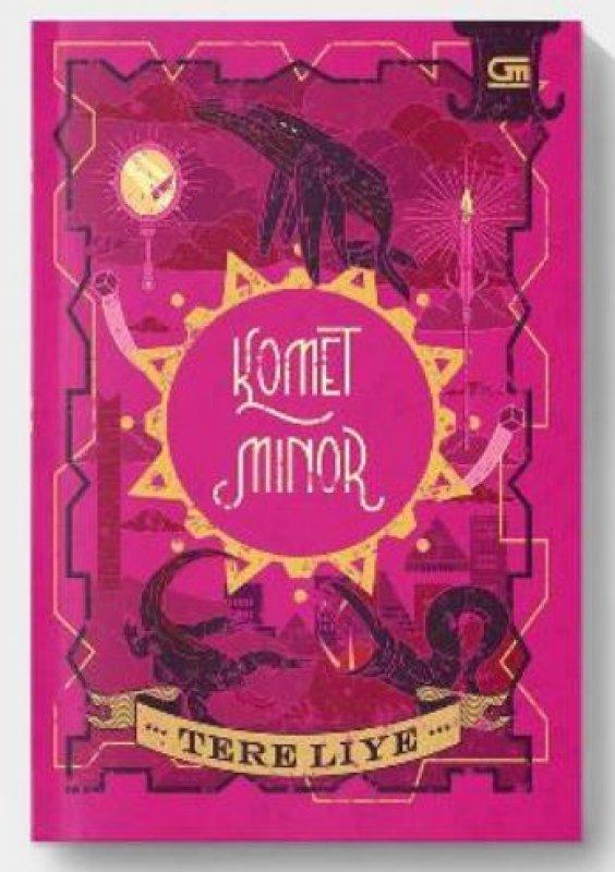 Cover Buku Komet Minor