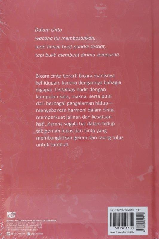 Cover Belakang Buku Cintalogy (Hard Cover)