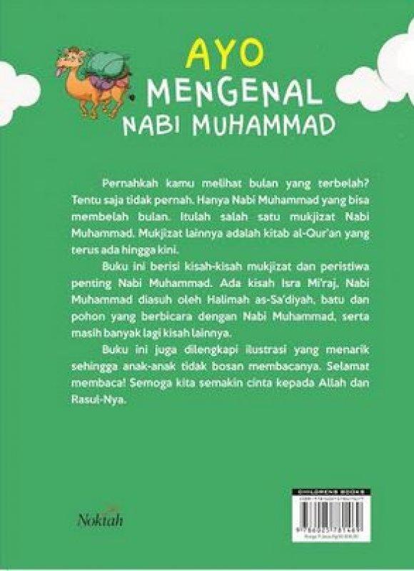 Cover Belakang Buku Ayo Mengenal Nabi Muhammad Mukjizat & Peristiwa Penting