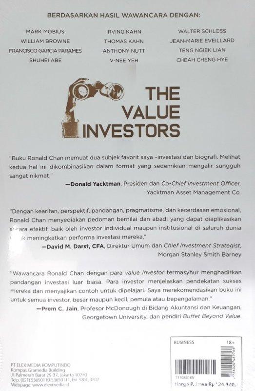 Cover Belakang Buku The Value Investors (2019)