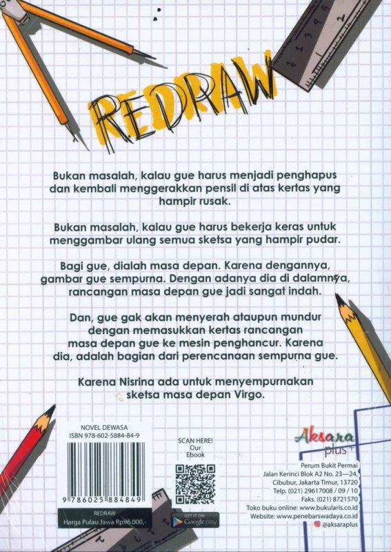 Cover Belakang Buku REDRAW