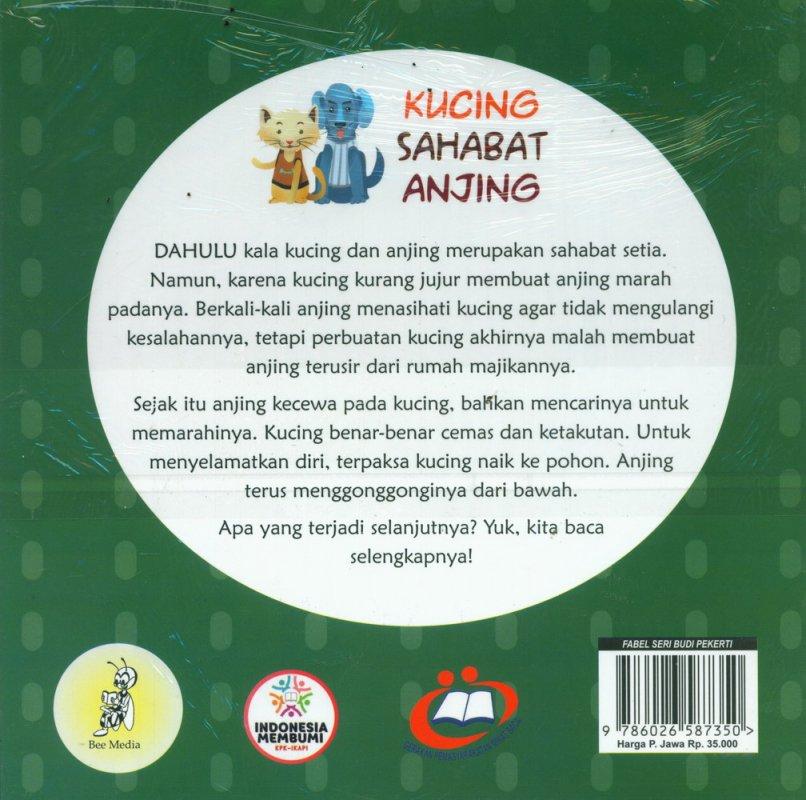 Cover Belakang Buku Kucing Sahabat Anjing