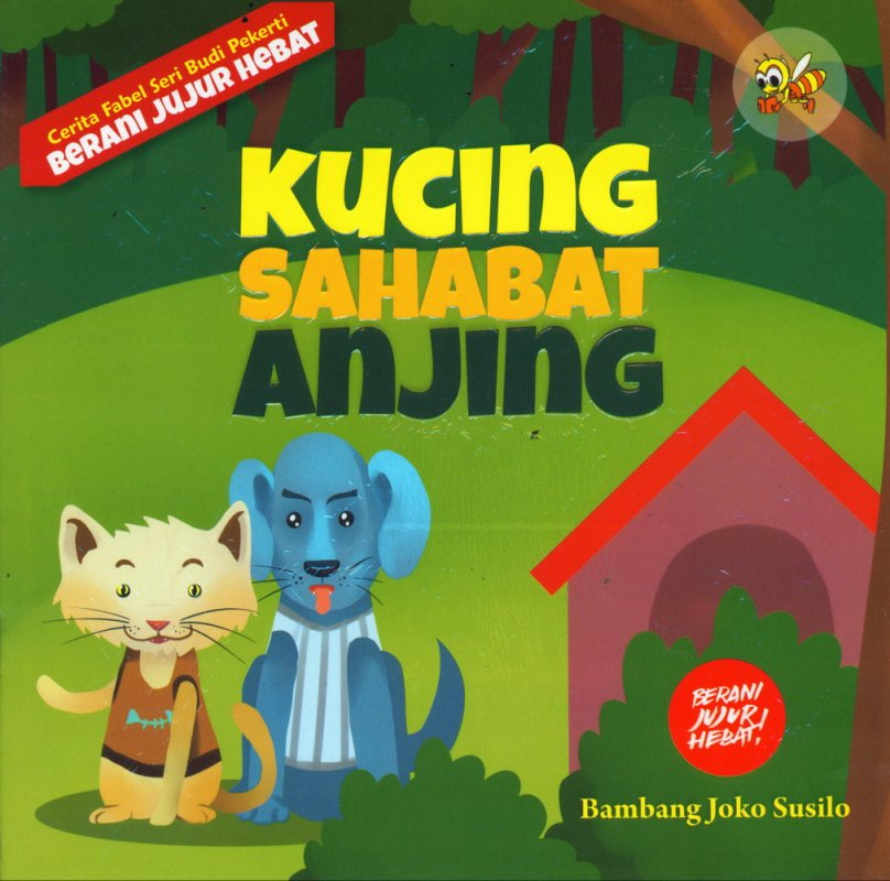 Cover Buku Kucing Sahabat Anjing