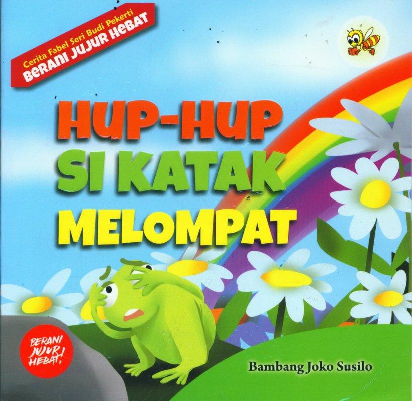 Cover Buku Hup-Hup Si Katak Melompat
