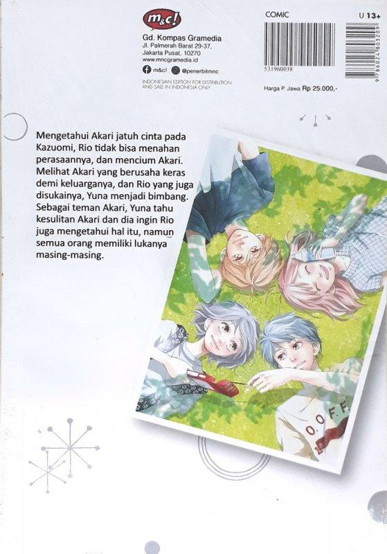 Cover Belakang Buku Love, Be Loved, Leave, Be Left 04