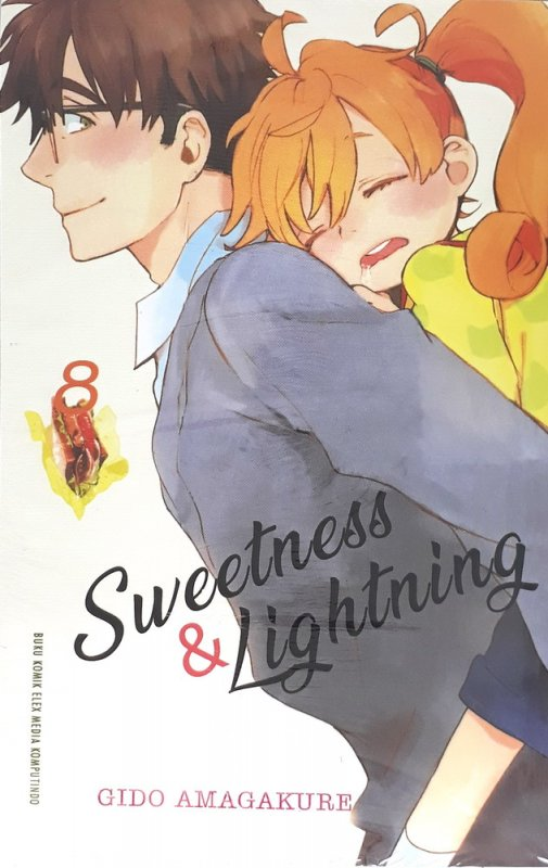 Cover Buku Sweetness And Lightning 8
