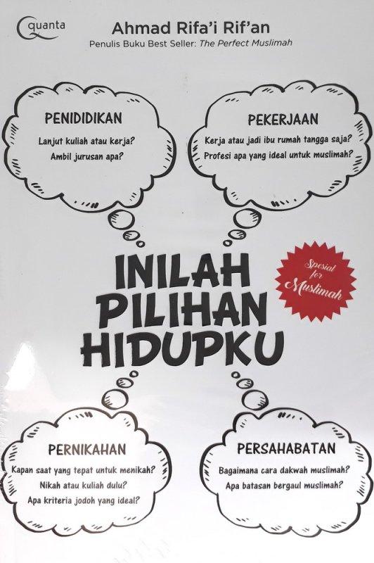Cover Buku Inilah Pilihan Hidupku