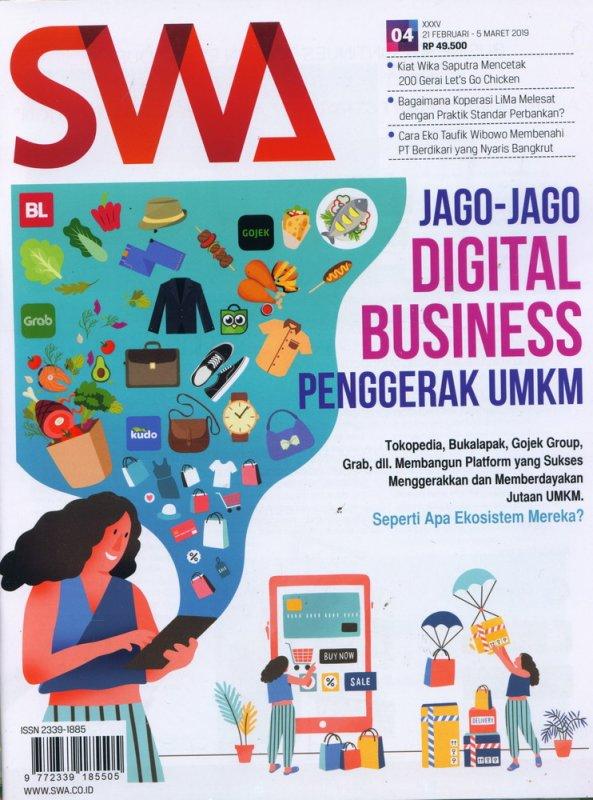 Cover Buku Majalah SWA Sembada No. 04 | 21 Februari - 5 Maret 2019