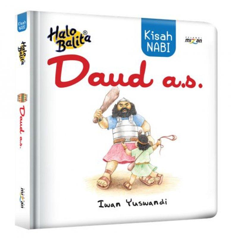 Cover Buku Halo Balita: Kisah Nabi Daud a.s. (cover baru) - Boardbook