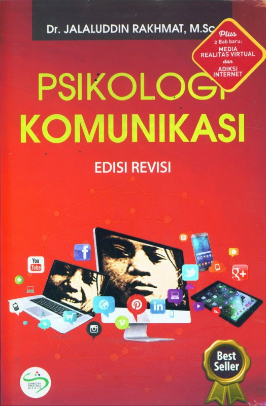 Cover Buku Psikologi Komunikasi Edisi Revisi