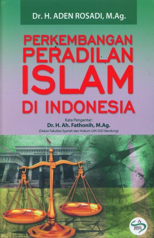 Cover Buku Perkembangan Peradilan Islam di Indonesia