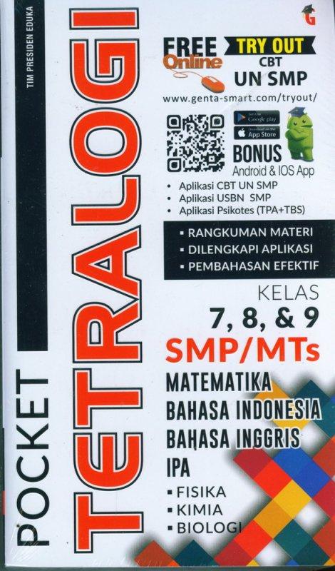 Cover Buku Pocket Tetralogi SMP/MTs Kelas 7,8, & 9
