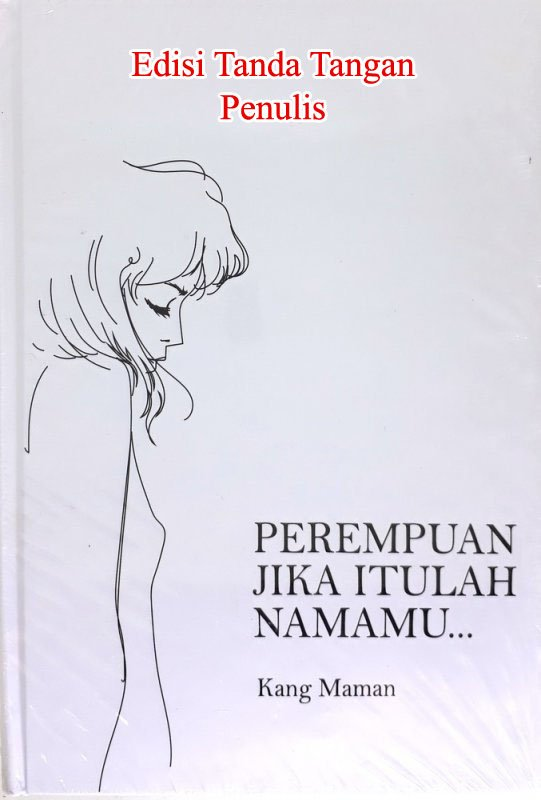 Cover Buku Perempuan Jika Itulah Namamu Edisi TTD