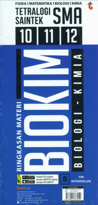Cover Buku ETRALOGI SAINTEK RINGKASAN MATERI FISMAT BIOKIM SMA 10-11-12