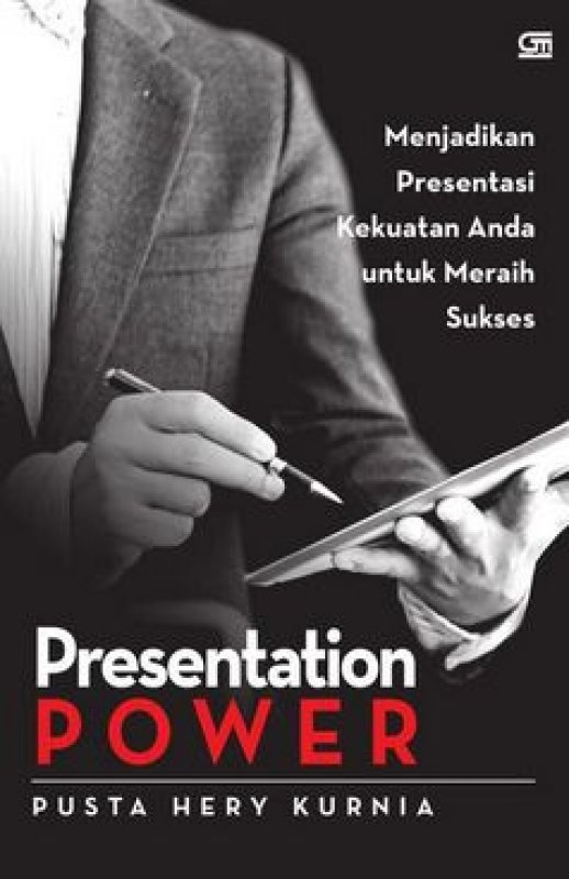 Cover Buku Presentation Power