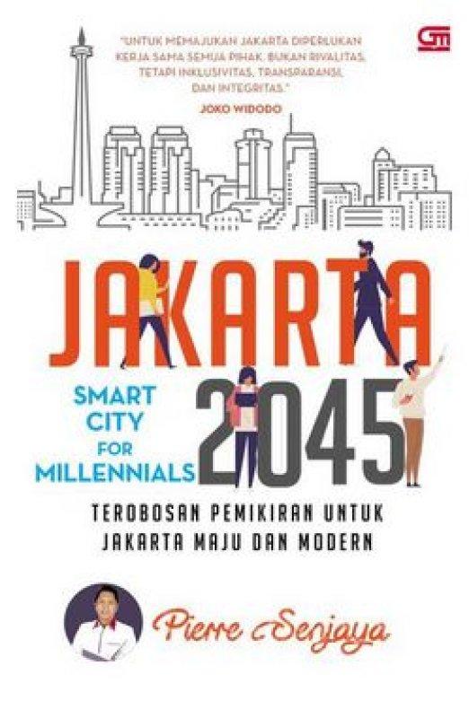 Cover Buku Jakarta 2045: Smart City for Millenials