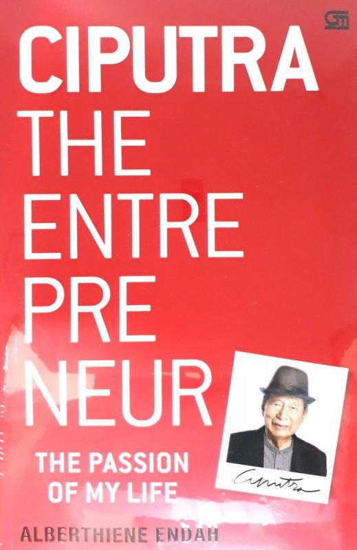 Cover Buku Ciputra The Entrepreneuer