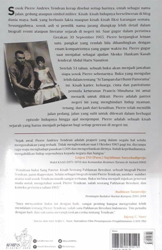 Cover Belakang Buku Biografi Resmi Pierre Tendean: Sang Patriot-Kisah Seorang Pahlawan Revolusi