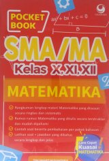 Pocket Book SMA / MA Matematika