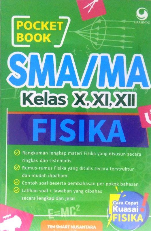 Cover Buku Pocket Book SMA / MA Fisika
