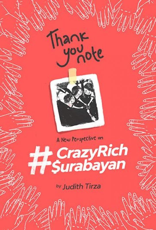 Cover Buku THANK YOU NOTE A NEW PERSPECTIVE ON #CRAZYRICHSURABAYAN
