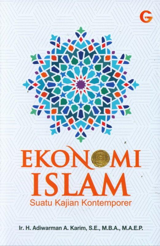 Cover Buku Ekonomi Islam Suatu Kajian Kontemporer