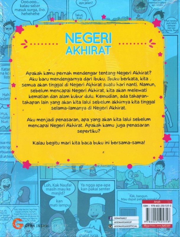 Cover Belakang Buku Negeri Akhirat