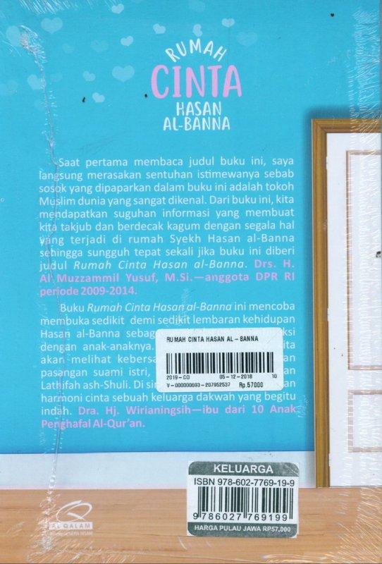Cover Belakang Buku Rumah Cinta Hasan AL-Banna