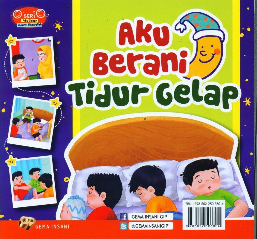 Cover Belakang Buku Seri Aku Sehat Seperti Rasulullah: Aku Makan Sambil Duduk (full color)