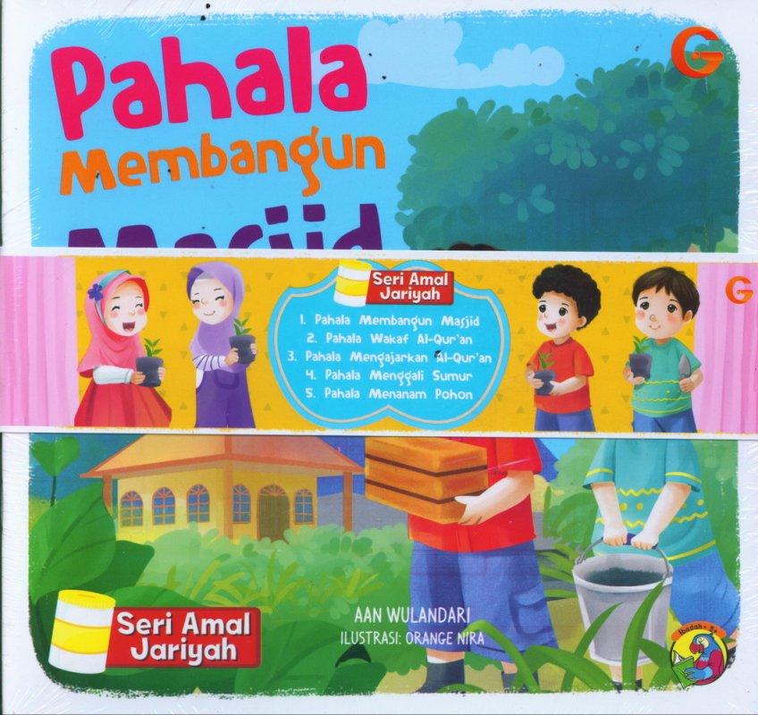 Cover Buku 1 Set Seri Amal Jariyah