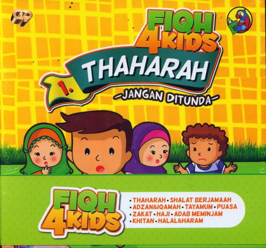Cover Buku 1 SET FIQH 4 KIDS