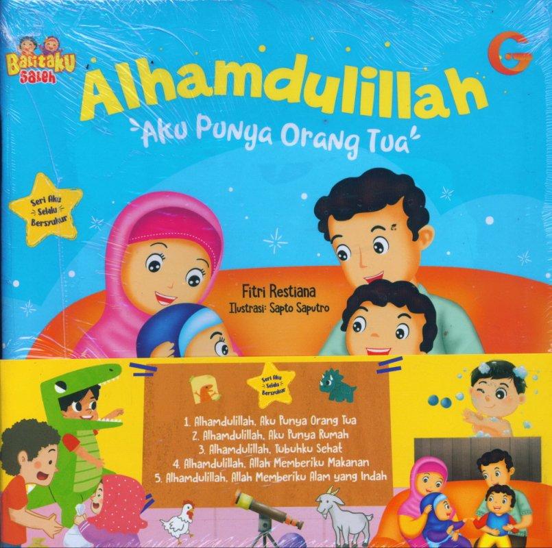 Cover Buku 1 SET SASB ALHAMDULILLAH