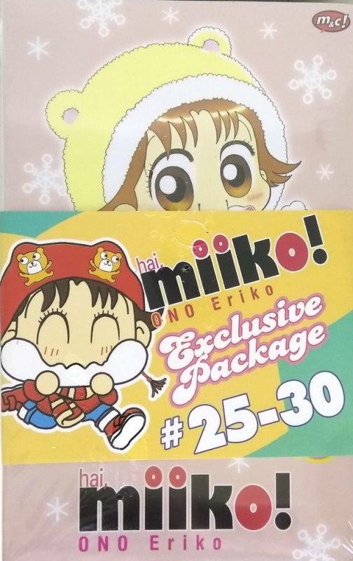 Cover Buku Hai, Miiko #25-30 Exclusive Package