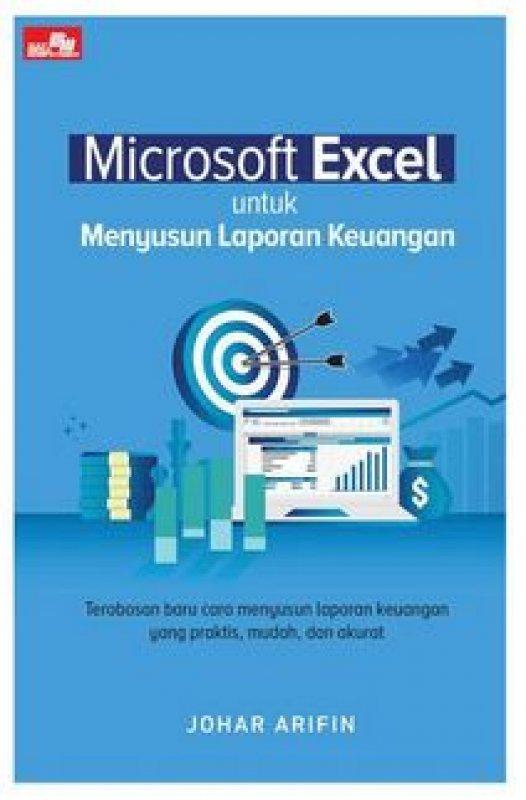 Cover Buku Microsoft Excel untuk Menyusun Laporan Keuangan